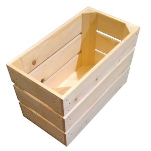 Natural Stained 208mm GN13 Gastronorm crate plain