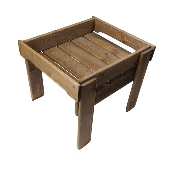Rustic Brown GN1/2 Rustic Slatted Tray Riser 325x265x295