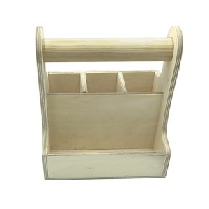cutlery & condiment caddy 215x165x230 front view