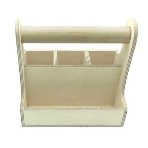cutlery & condiment caddy 250x165x230 front view