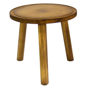 Rustic Pine Milking Stool 290Dx210