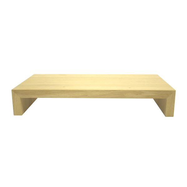lacquered Square Oak Riser 350x180x60