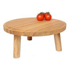 lacquered Oak Milking Stool 290Dx140