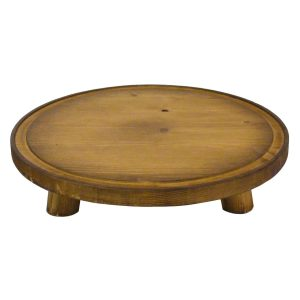Rustic Pine Milking Stool 290Dx70
