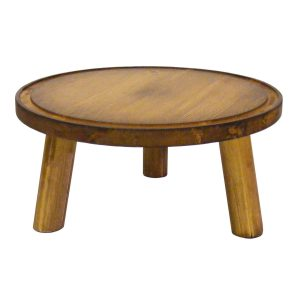 Rustic Pine Milking Stool 290Dx140