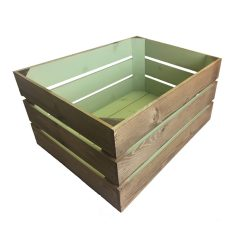 medium 500mm colour burst crate frampton green large