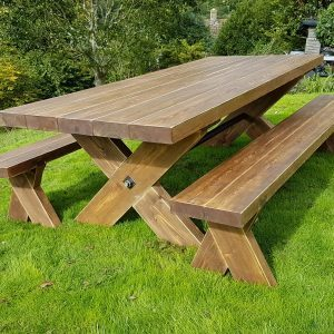 Garden Table and Bench Sets