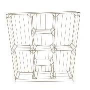 outline Crate Display System