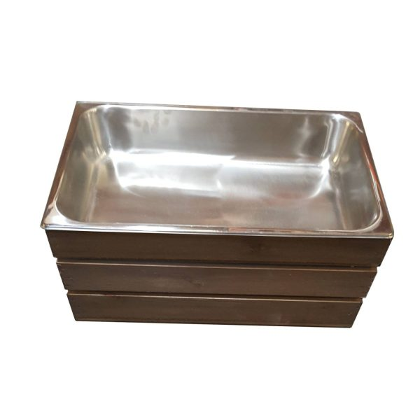 Rustic GN 1/1 Gastronorm Crate 525x325x250
