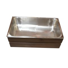 Rustic GN 1/1 Gastronorm Shallow Crate 525x325x165