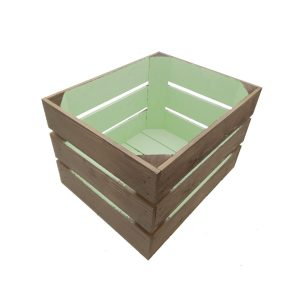 small 300mm colour burst crate frampton green large