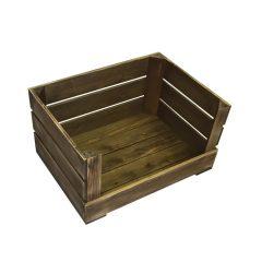 Drop Front Rustic Crate 500x370x250