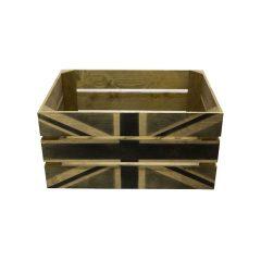 Rustic Black Jack Crate 500x370x250