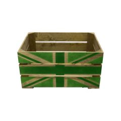 Rustic Green Jack Crate 500x370x250
