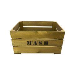 Rustic M*A*S*H Crate 500x370x250