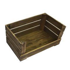 Drop Front Rustic Crate 600x370x250
