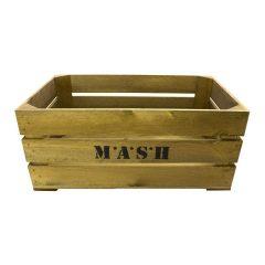 Rustic M*A*S*H Crate 600x370x250