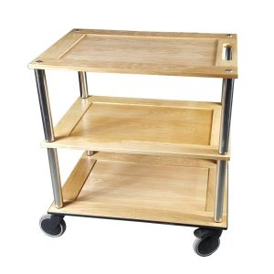 Bourton Oak Hospitality Trolley 798x558x855