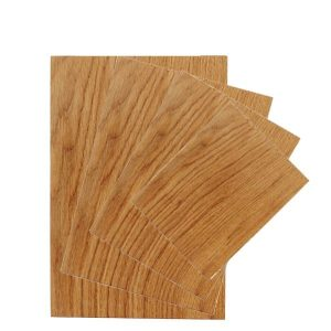 Rustic Square Edged Oak Chopping Board SET