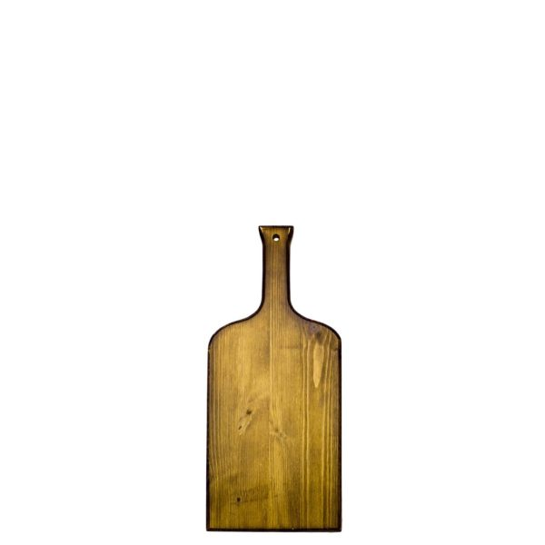 Rustic Wine Bottle Paddle 450x200x18