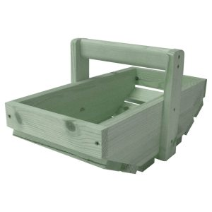 Tetbury Green Small Painted Garden Trug 415x210x110