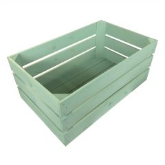 tetbury green painted crate 600x370x250