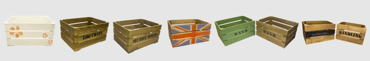 themed crates