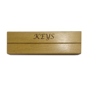 Oak Key Holder Slot Rack 300x90x38