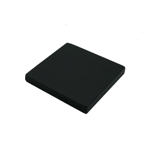 black painted block riser 145x145x18