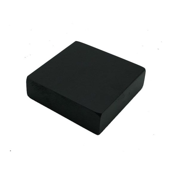 black painted block riser 145x145x45