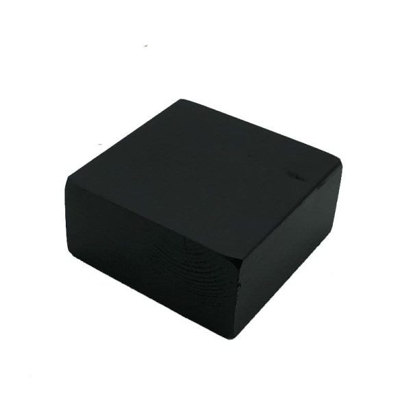 black painted block riser 145x145x70