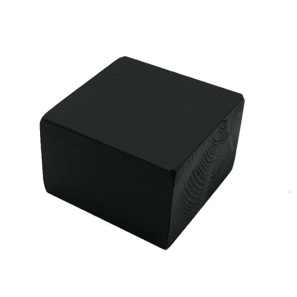 black painted block riser 145x145x95