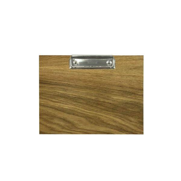 oak veneered clipboard with clip 175x230x6