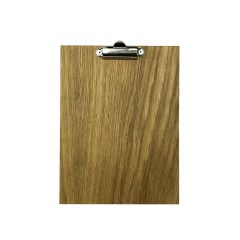 A5 Oak Veneered Clipboard 175x230x6