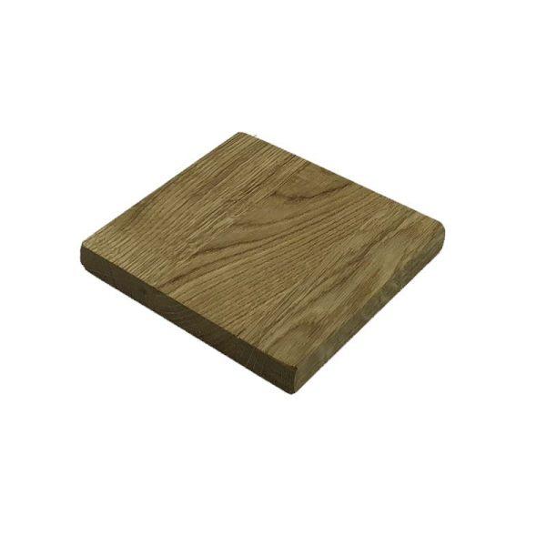 oiled oak block riser 145x145x18