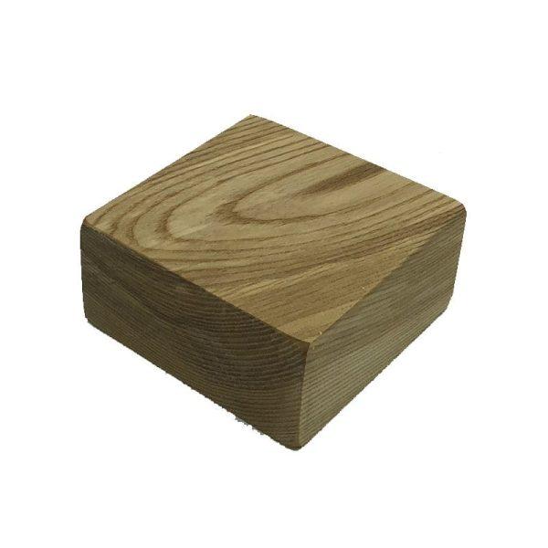 oiled ash block riser 145x145x70