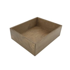 rustic brown ply double crock housing