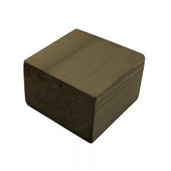 rustic brown rustic block riser 145x145x95