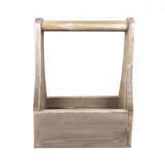 rustic champagne wine caddy 320x130x400 front view