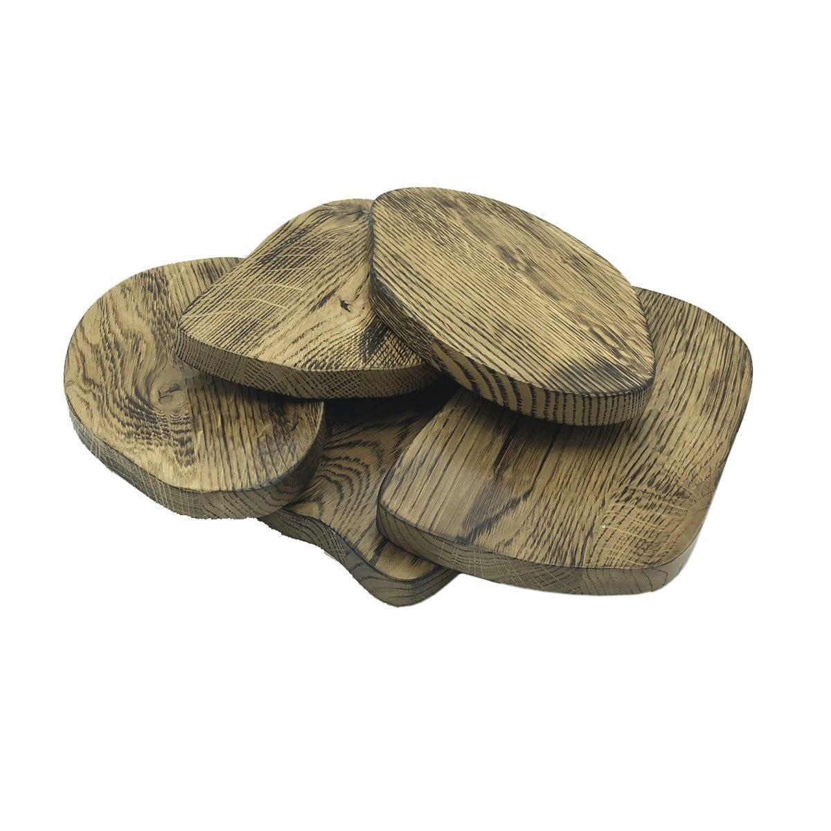 Scorched Oak Random Board 230x140x18 Very Eye Catching