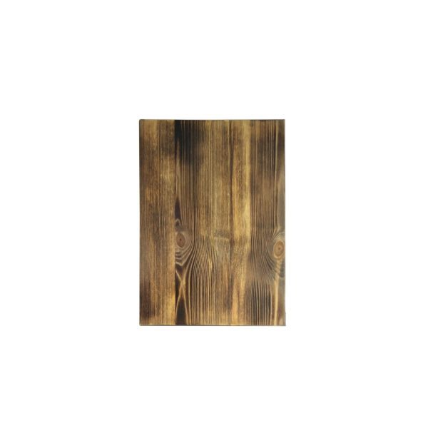 scorched pine board 350x250x35 face