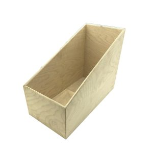 Rustic Slanted Cup & Lid Holder 400x200x300