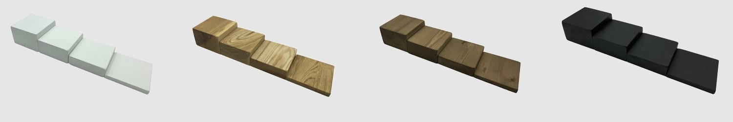 wooden block risers