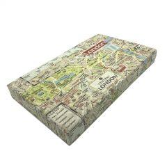 central london map cushion lid 525x325x60