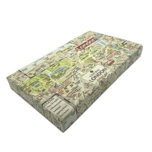 central london map cushion lid 525x325x60