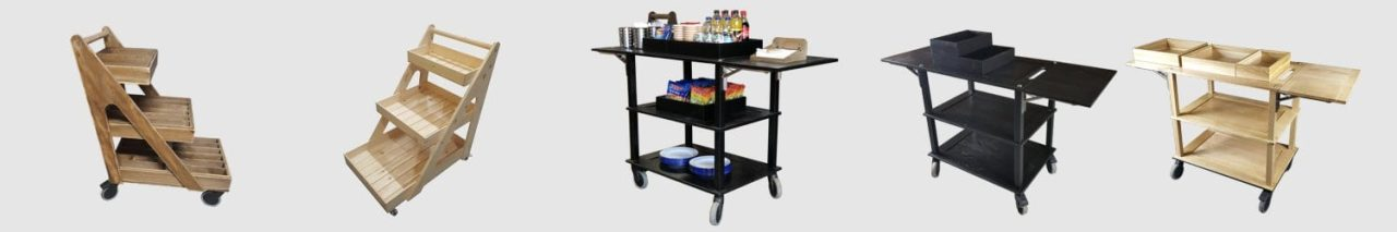 merchandise & display trolleys