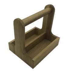 Oak Cutlery Caddy 257x196x245