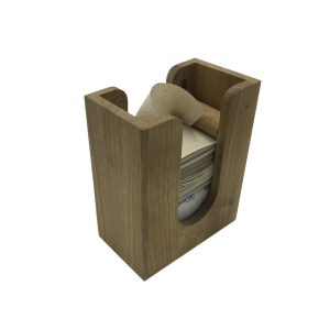oak napkin dispenser 200x115x240