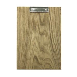 A4 Portrait Oak Veneered Clipboard 230x320x6