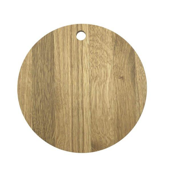 oiled oak pizza board 290Dx13